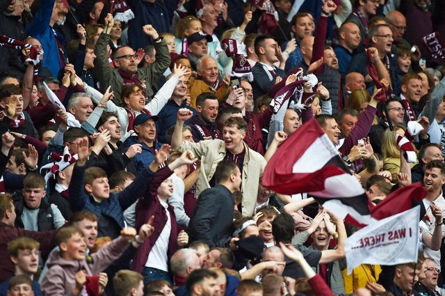 Hearts fans could be back inside Tynecastle soon.