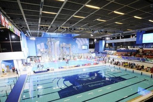 The Royal Commonwealth Pool. Pic: Greg Macvean.