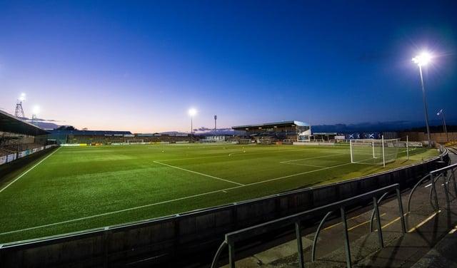 Edinburgh City travel to Angus to take on Forfar Athletic.