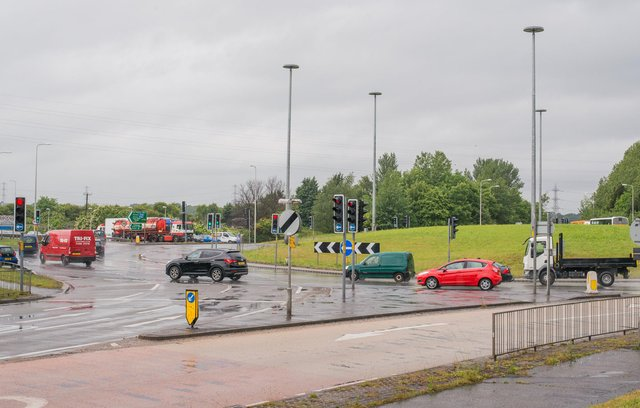 Sheriffhall roundabout on the City Bypass will see overnight lane closures