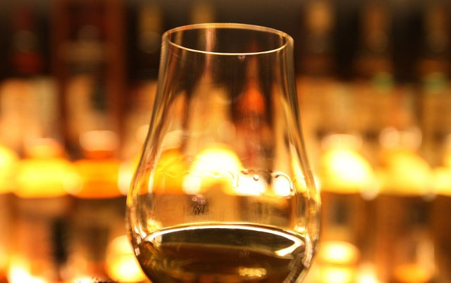 Donald Trump imposed a 25 per cent tariff on Scotch whisky as part of a trade dispute between the US and EU (Picture: David Cheskin/PA wire)