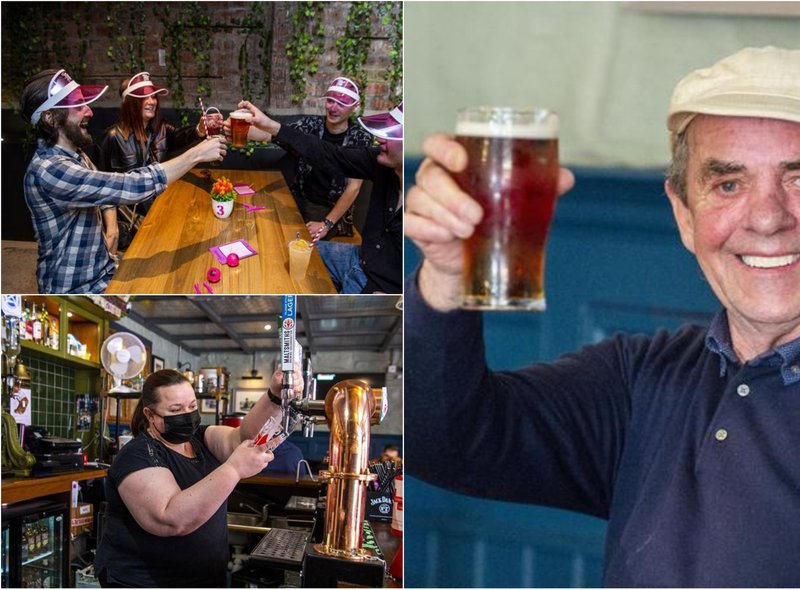 In pictures: Edinburgh reopens.