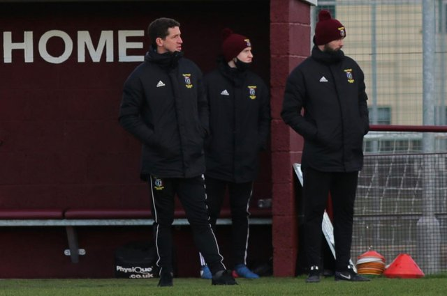Tranent manager Calum Elliot, left, has bolstered his coaching staff