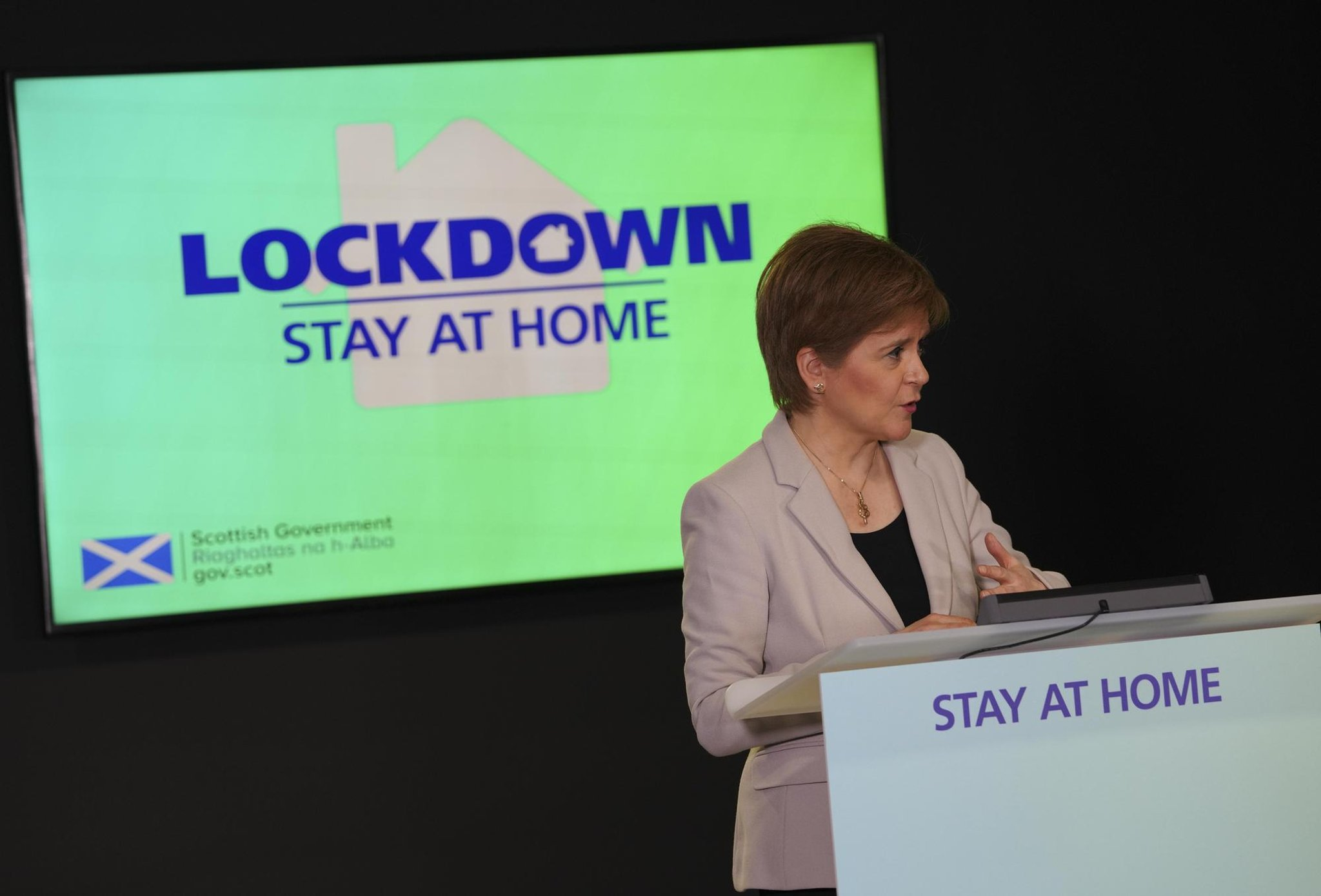 Nicola Sturgeon can't rule out 'additional' lockdown restrictions