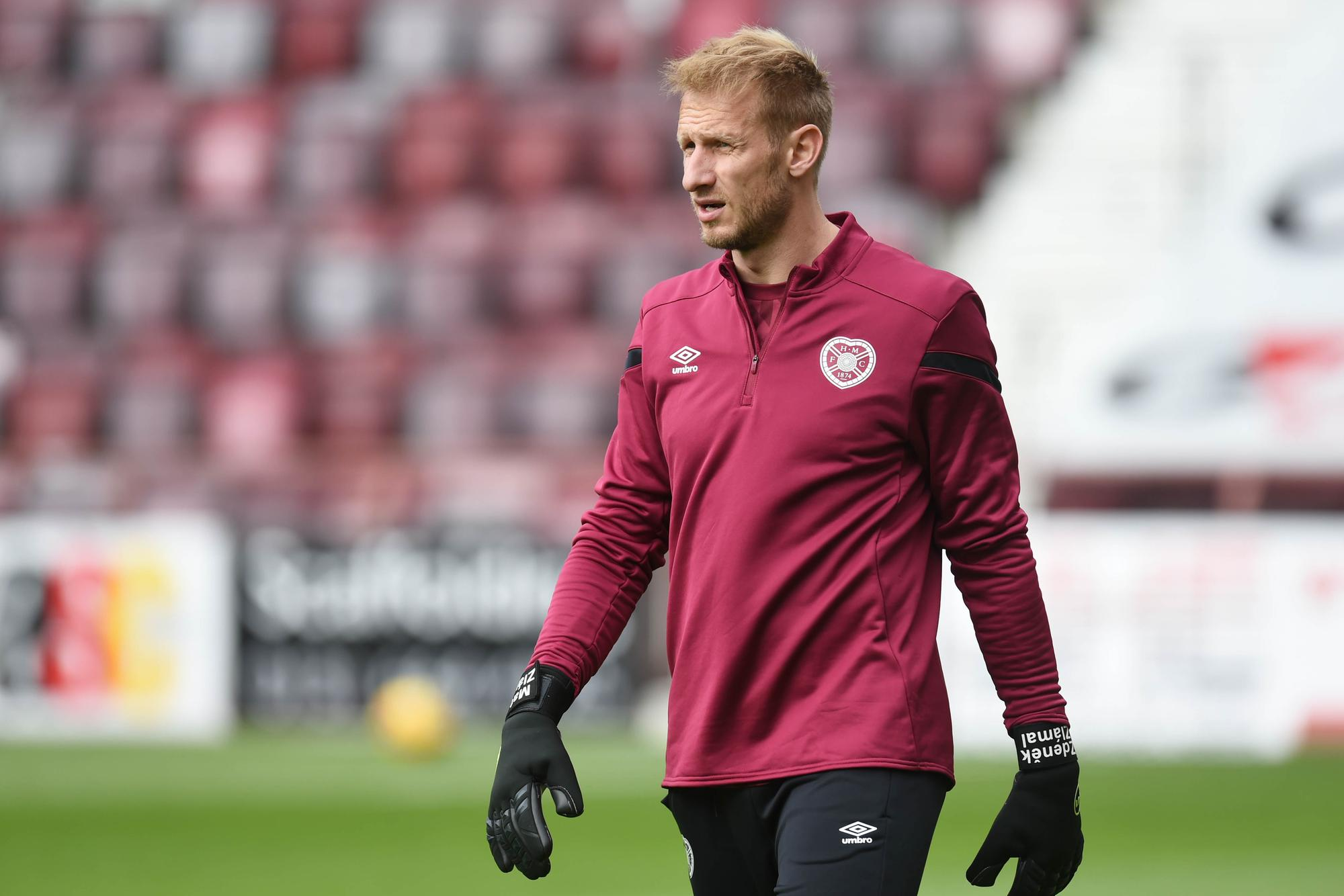 Hearts keeper Zdenek Zlamal speaks on Craig Gordon arrival and thoughts on future at Tynecastle