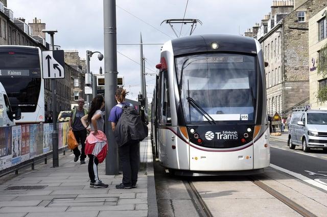 Edinburgh tram (Photo: Lisa Ferguson).