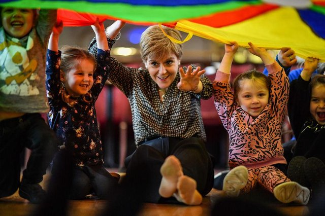 Child poverty was increasing in Scotland before the pandemic hit, the latest figures show, moving further away from the Scottish Government's targets to tackle the problem.   (Photo by Jeff J Mitchell/Getty Images)