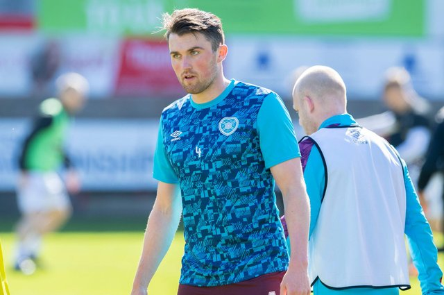Hearts defender John Souttar is fit again after long-term injury.