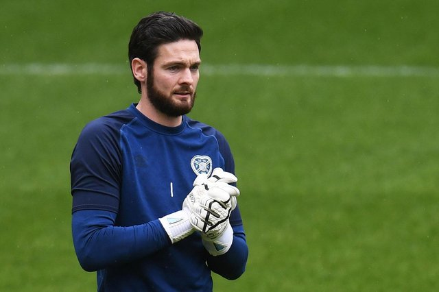 Hearts goalkeeper Craig Gordon was at his best against Dundee on Saturday.