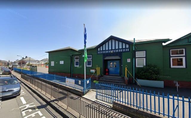 Hermitage Park Primary School in Edinburgh picture: Google maps