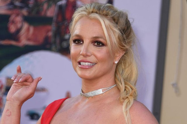A judge in the US denied a request to remove Britney Spears' father from her conservatorship this week (Picture: Valerie Macon/AFP via Getty Images)
