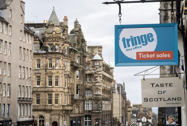 The fate of this year's Fringe is still hanging in the balance. Picture: Jane Barlow/PA Wire