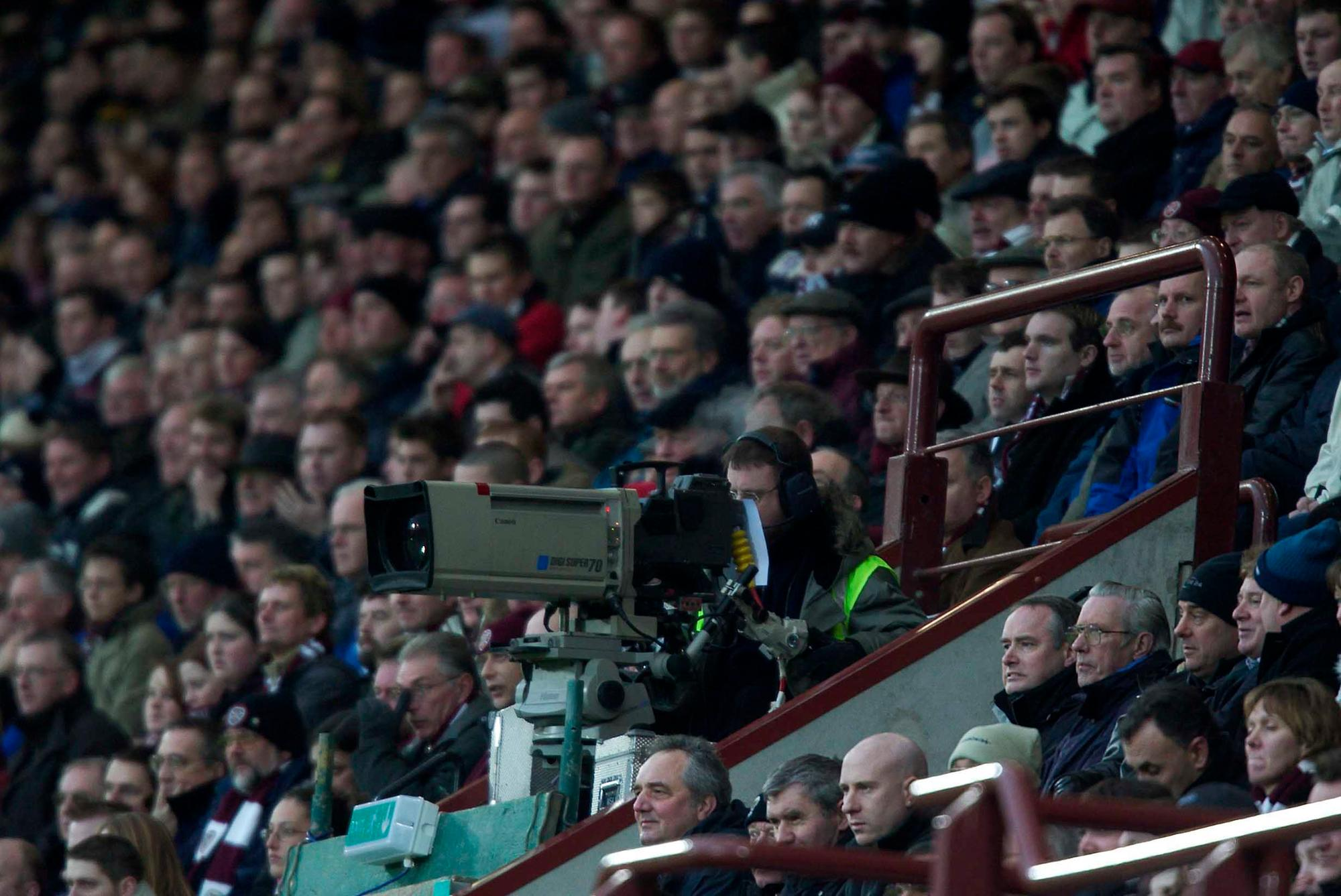 Hearts and Hibs prepared for streaming if fixtures played behind closed doors