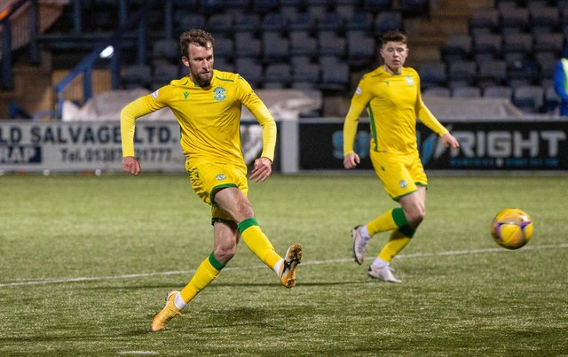 Christian Doidge has netted three goals in his last two games - and coule have had a hat-trick against Queen of the South had it not been for the woodwork