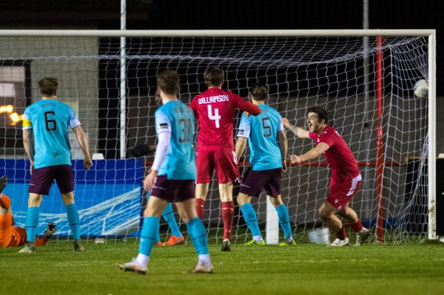 Hearts fell to a shock 2-1 defeat by Brora Rangers.