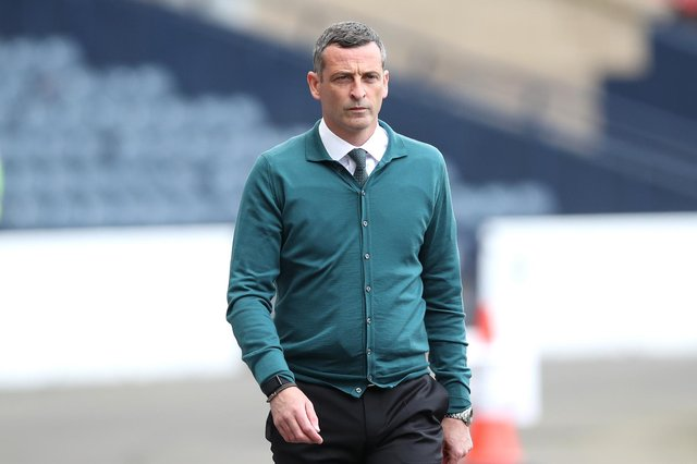 Jack Ross plans to strengthen Hibs following the Scottish Cup final disappointment. (Photo by Ian MacNicol/Getty Images)