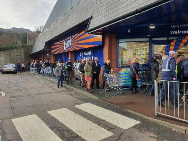 No tags plea: B&M store in Prestonpans