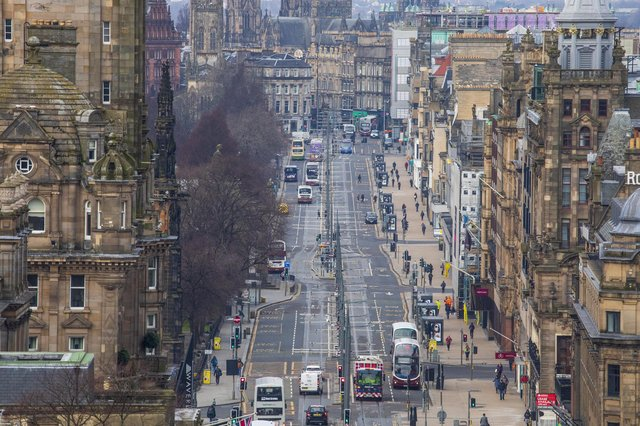 Council must work with the business community to help restore life to Edinburgh's city centre (Picture: Katielee Arrowsmith/SWNS)