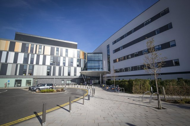 These 13 new pictures show off the Royal Hospital for Sick Children in Edinburgh ahead of official opening.
