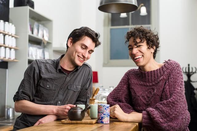 Jon and Esther of Pekoe Tea
