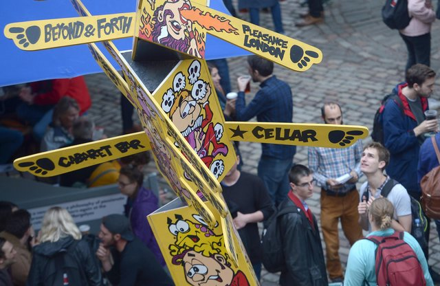 The Pleasance is normally one of the most popular Fringe venues. Picture: Neil Hanna
