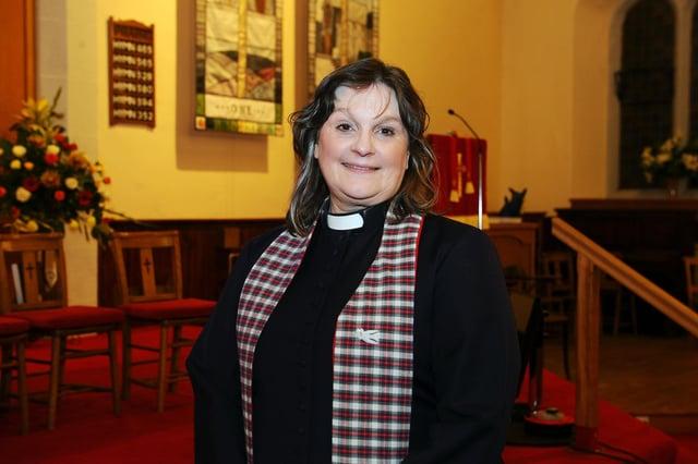 Rev. Julie Rennick  (Picture Michael Gillen)