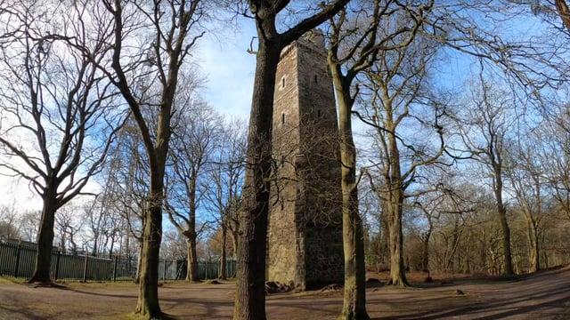 Corstorphine Hill Tower. Picture: Ruairidh Mason