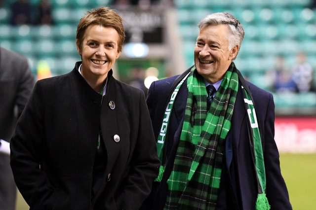Hibs' executive chairman and owner Ron Gordon has been seeking a replacement for former chief executive Leeann Dempster since her December departure. Photo by Ross Parker / SNS Group