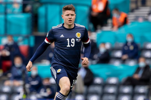 Kevin Nisbet played all three of Scotland's games at Euro 2020.