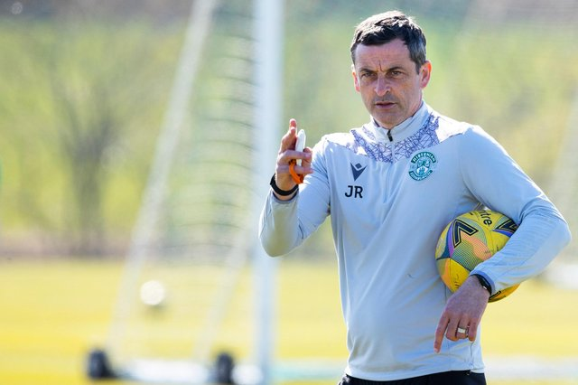 Jack Ross is an admirer of Leigh Griffiths but insisted there had been no discussions about the player