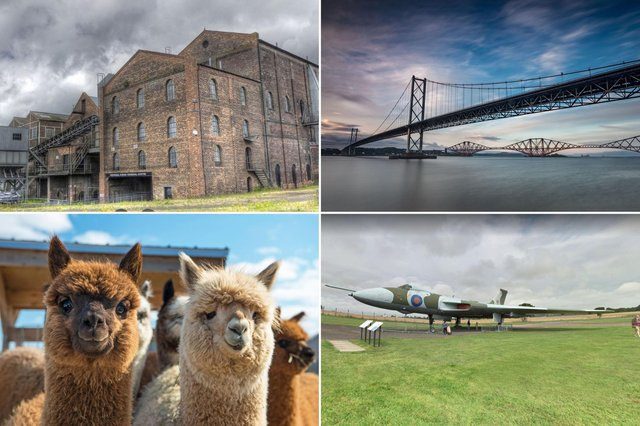 A few of the weird, beautiful and interesting day trips less than an hour from Edinburgh.