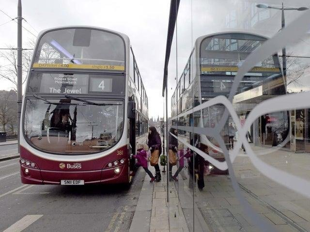 Edinburgh's Lothian buses have been subject to multiple attacks by groups of youths in the city picture: JPI Media