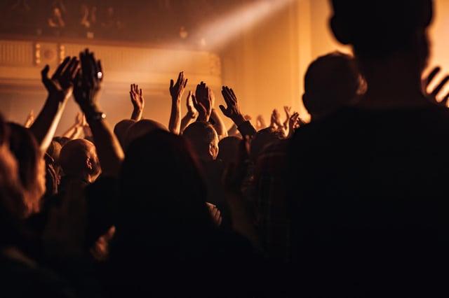 Leith Theatre during the Edinburgh International Festival. Picture: David Wilkinson