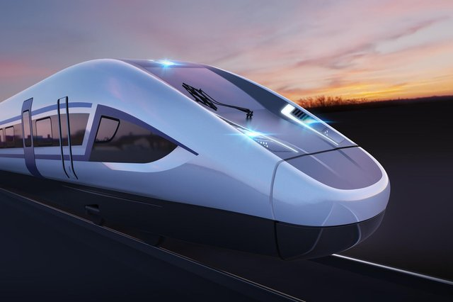 HS2 is one of the largest infrastructure projects seen in the UK for decades. Picture: Siemens/PA Wire