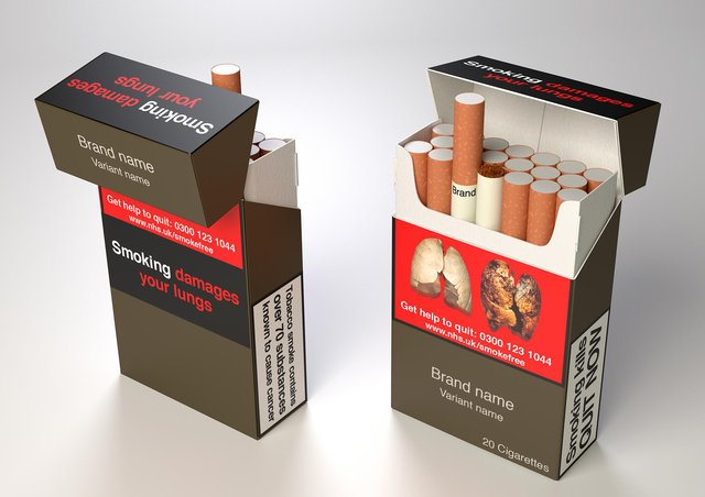 Could alcohol packaging be made to match the warnings displayed on cigatettes?