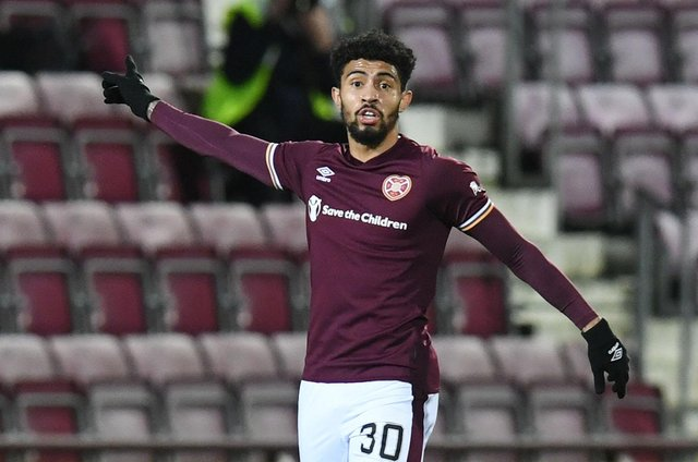 Josh Ginnelly has signed a two-year deal with Hearts. (Photo by Ross MacDonald / SNS Group)