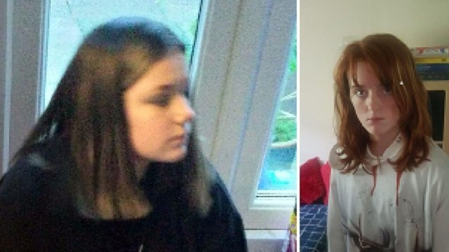 14-year old Sarah Wilson (pictured left) and 12-year-old Teigan Scott (pictured right) were last seen on Carfrae Drive, Glenrothes at around 4pm on Friday June 18 (Photo: Police Scotland).