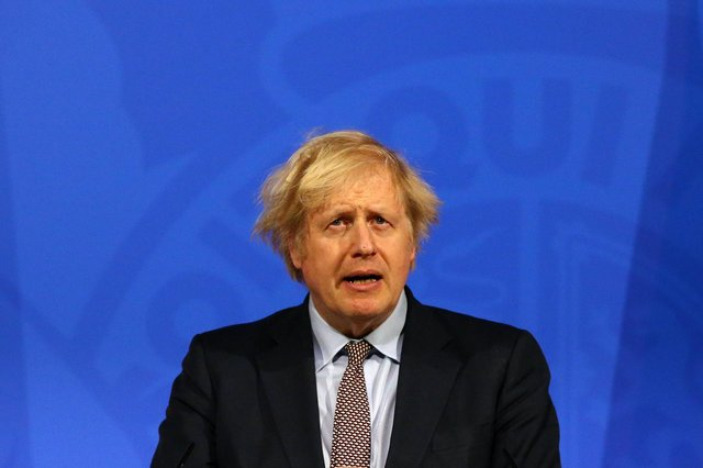 Boris Johnson's falling out with Dominic Cummings could come back to haunt him (Picture: Hollie Adams/WPA pool/Getty Images)