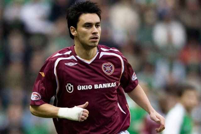 Mauricio Pinilla has opened up on the mental health issues he lived through during his time at Hearts. Picture: SNS