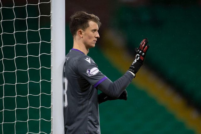 Matt Macey has done his Easter Road No.1 hopes no harm during his limited showings for Hibs