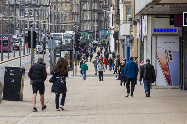 Edinburgh's Princes Street and the city centre needs a credible recovery plan or it faces troubled times ahead, warns John McLellan (Picture: Lisa Ferguson)