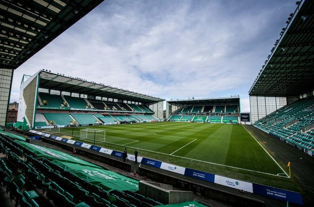 Easter Road will host 2000 fans for Hibs' friendly against Arsenal. (Photo by Ross Parker / SNS Group)