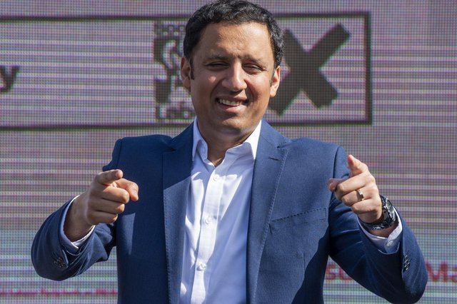 Anas Sarwar says the next parliament must focus on the recovery   Pic Lisa Ferguson
