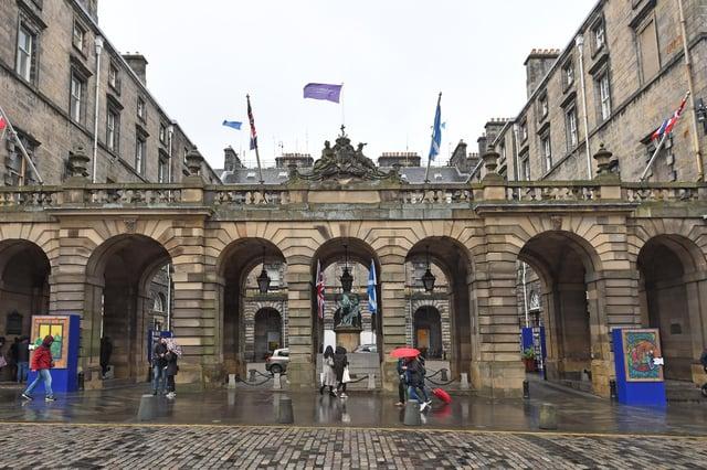 Edinburgh City Chambers   Picture: Neil Hanna Photography
