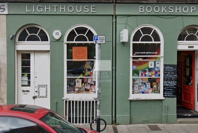 The Lighthouse bookshop is in West Nicolson Street   Picture: Google Maps