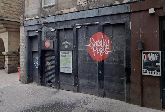 Cowgate nightclub and live music venue Sneaky Pete's.
