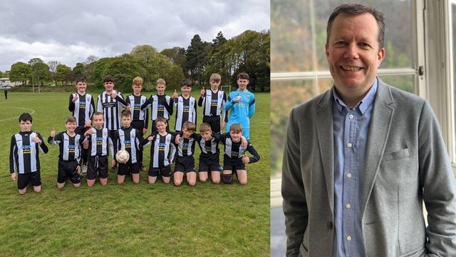 Professor Jason Leitch, the national clinical director for Scotland, hasasked people if they could help Leith Athletics Under 13s bysponsoring them for kit.