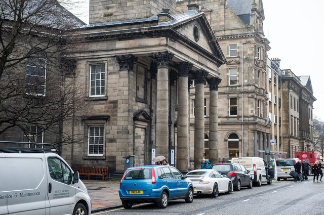 St Andrews and St Georges West Church on George Street has only recently reopened after lockdown   Pic: Ian Georgeson,