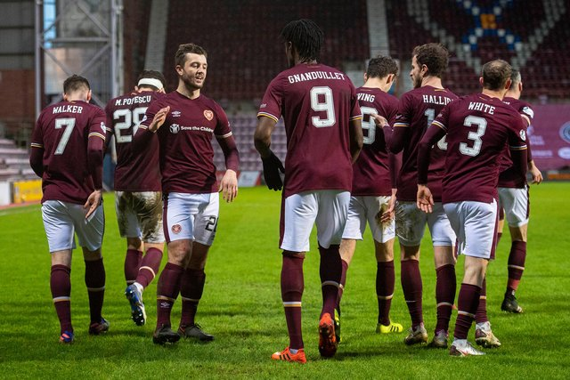 Hearts are on course for a Scottish Championship win. Picture: SNS