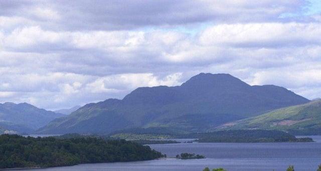 Looking north-west on Loch Lomond picture: Allan Milligan